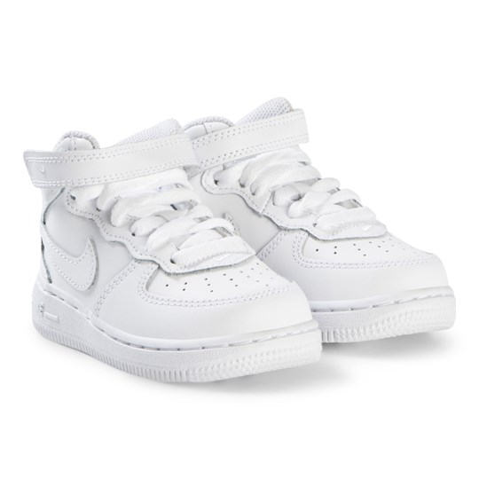 NIKE White Force 1 Mid Infant Shoes 113