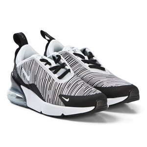 Image of NIKE Air Max 270 Black and White 31.5 (UK 13) (3056096493)
