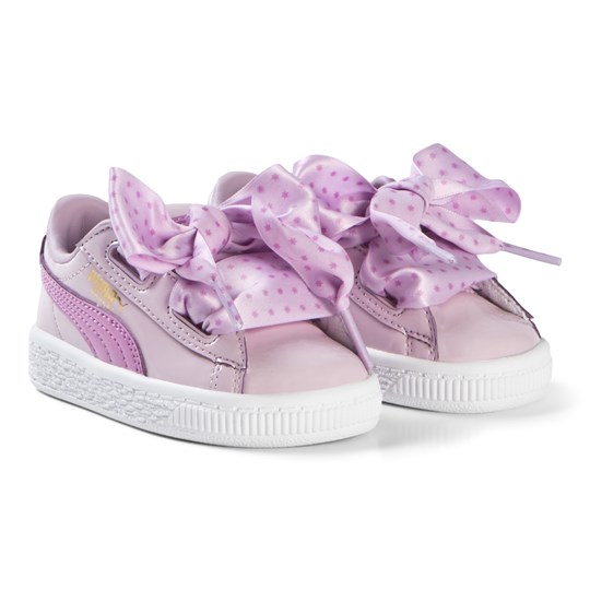 reputable site d4641 1870a Puma - Basket Heart Star Trainers Pink - Babyshop.com