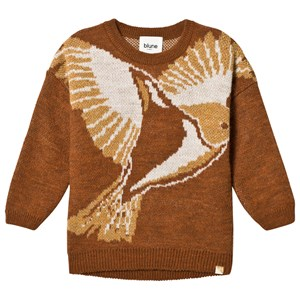 Image of Blune A Tir D'aile Sweater Cinnamon 10 år (3056067243)