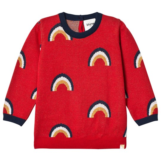 Blune Over The Rainbow Sweater Red Red