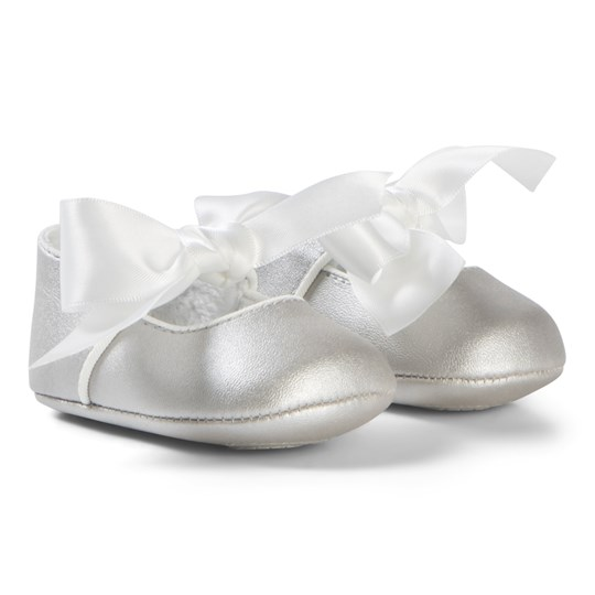 Mayoral Ribbon Bow Babyskor Off White 51