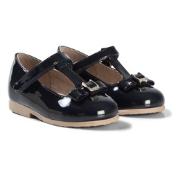 Mayoral Navy Front Bow Patent Mary Janes