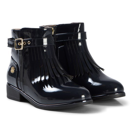 Mayoral Navy Tassel Fringed Boots 70