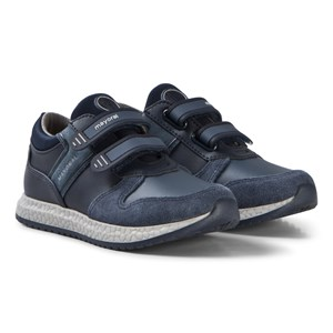 Image of Mayoral Navy Velcro Textured Sneakers 26 (UK 8.5) (3125270513)