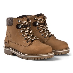 Image of Mayoral Tan Lace Up Leather Boots 26 (UK 8.5) (3125268489)