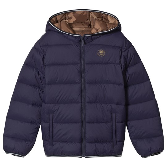 Mayoral Navy Lightweight Hooded Puffer Jacket 24