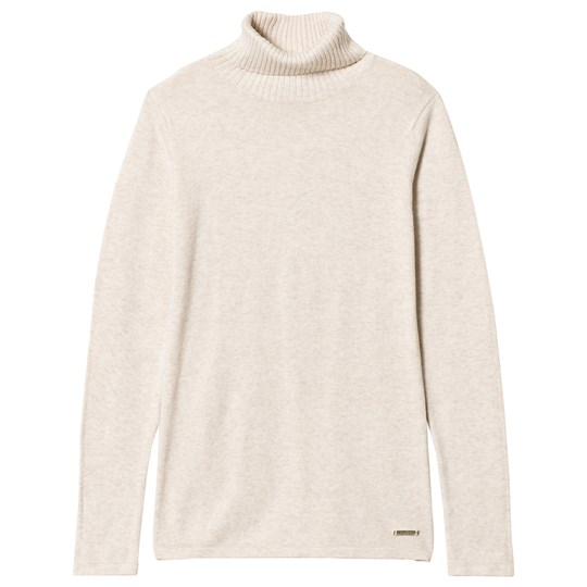Mayoral Cream Knit Turtle Neck Top 22