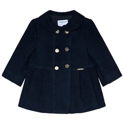 Mayoral Mouflon Coat Navy Blue