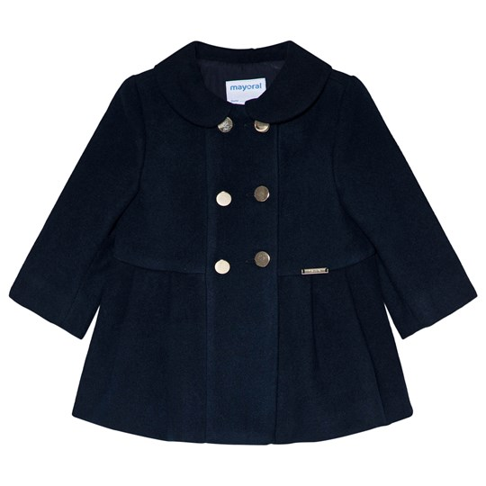 Mayoral Mouflon Coat Navy Blue 52