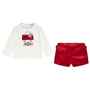 Image of Mayoral Tee and Shorts Set Red 9 months (3056091413)