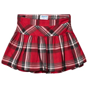 Image of Mayoral Red Check Skirt 7 years (3056089497)