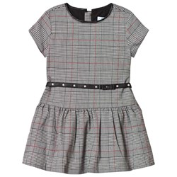 Mayoral Grey Check Dress with Belt