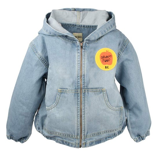 Bobo Choses Denim Jacket Patches Blue