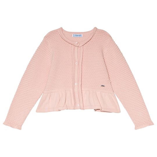 Mayoral Pink Knitted Cardigan 47