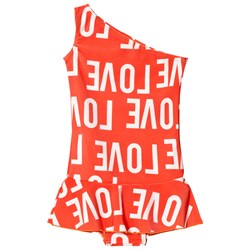 Gardner and the gang Cool Swimsuit Love Red