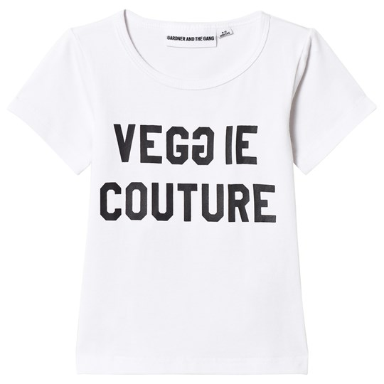 Gardner and the gang The Cool Tee Veggie Couture White White