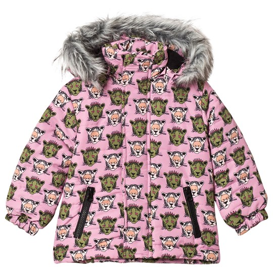 Gardner and the gang Winter Jacket Pink Pink