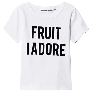 Image of Gardner and the gang The Cool Tee Fruit I Adore White 6-8 år (1141854)