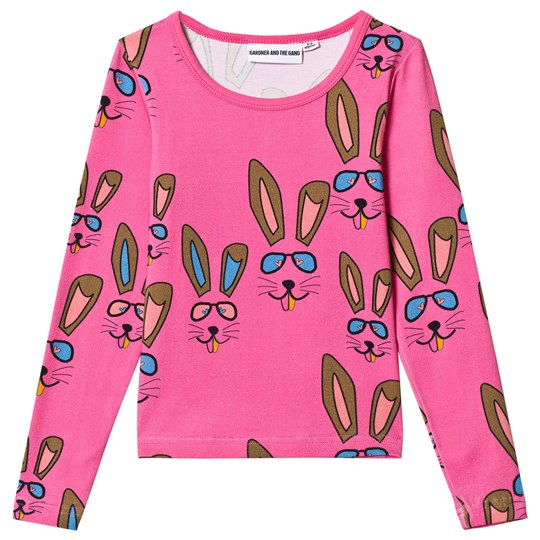 Gardner and the gang The Cool Tee Benny Bunny Pink Pink