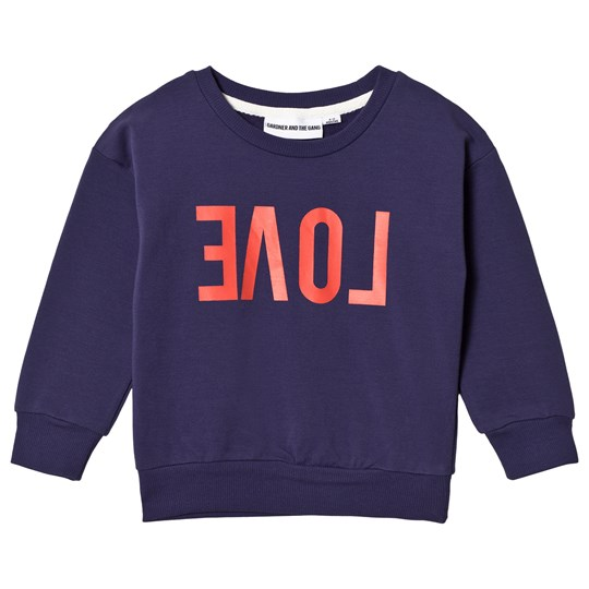 Gardner and the gang Classic Sweatshirt Reverse Love Blue Blue