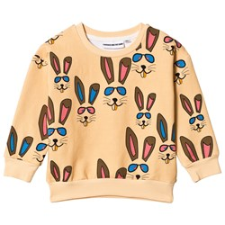 Gardner and the gang Classic Tröja Benny Bunny Beige