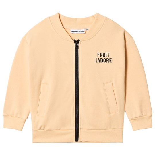 Gardner and the gang Track Suit Jacket Banana Beige Beige