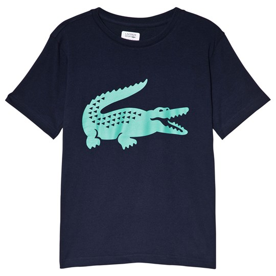 Lacoste Training T-Shirt Navy/Green ASB