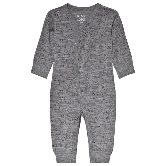 Hust&Claire Mila Nightwear Grey WOOL GREY