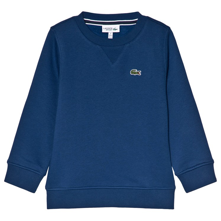 Lacoste Classic Training Sweater Navy Babyshop.no