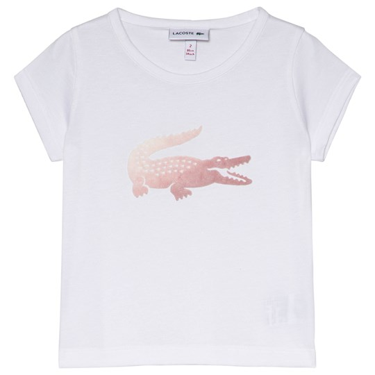 Lacoste Pink Croc Classic Tee 800