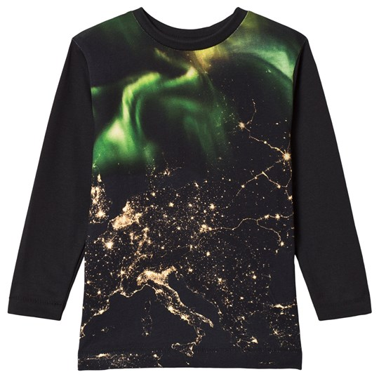 Molo Rexol T-shirts LS Earth Lights Earth Lights