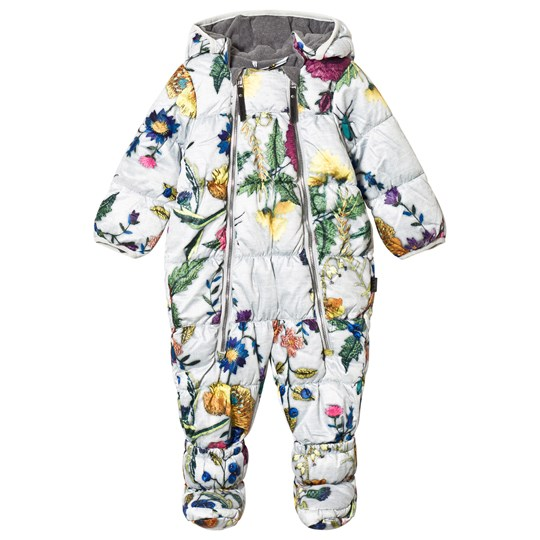 Molo Hebe Baby Snowsuit Flower Embroidery Flower Embroidery
