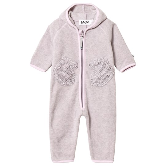 Molo Udo Fleece Suit Pink Lady Pink Lady
