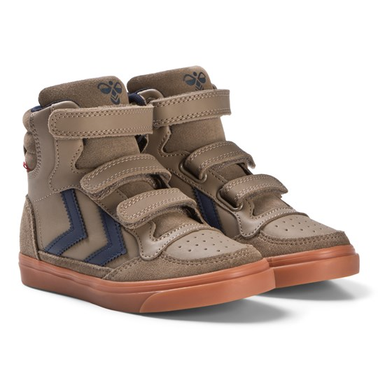 Hummel Stadil Rubber Jr Shoes Taupe Grey Taupe Grey