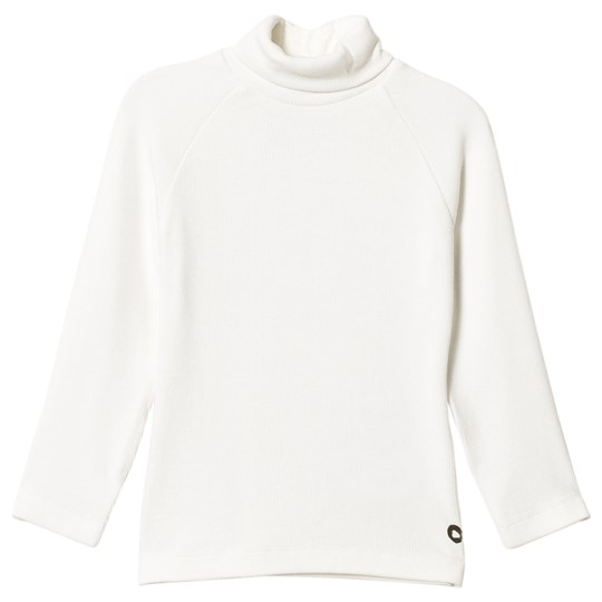 Mayoral Cream Ribbed Turtleneck T-Shirt 81
