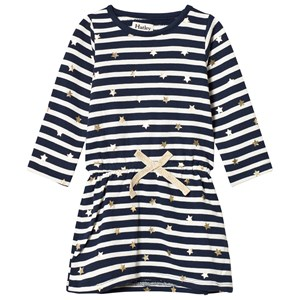 Image of Hatley Navy and White Starry Stripes French Terry Dress 2 years (1116447)