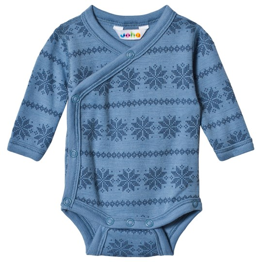 Joha Snowflake Wrap Body Blue Snowflake Boy