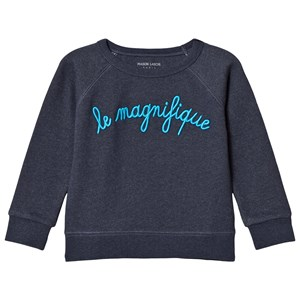 Image of Maison Labiche Navy Le Magnifique Sweatshirt 4 years (3056084151)