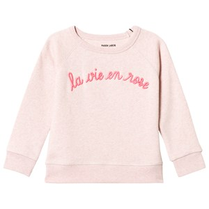 Image of Maison Labiche Pink La Vie En Rose Sweatshirt 6 years (3056084177)