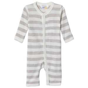 Image of Joha Stripe One-Piece Grey 100 cm (3-4 år) (3056097861)