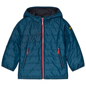Image of Barbour Petrol Blue Locking Padded Jacket L (10-11 years) (3056071555)
