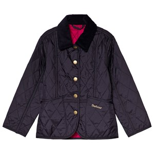 Image of Barbour Navy Liddersdale Quilted Jacked L (10-11 years) (3056071623)