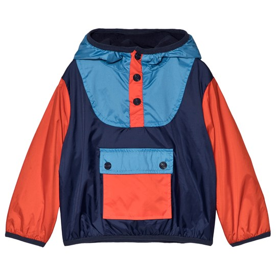 Kenzo Red and Blue Hooded Jacket 04