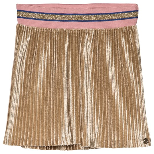 IKKS Gold Pleated Skirt 7