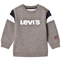 cdf2bf1d45a753 Levis Kids Grey Logo Embroidered Sweatshirt 20