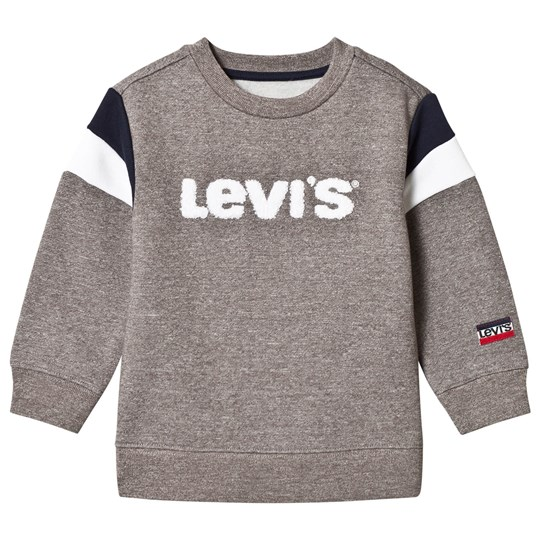 Levis Kids Grey Logo Embroidered Sweatshirt 20
