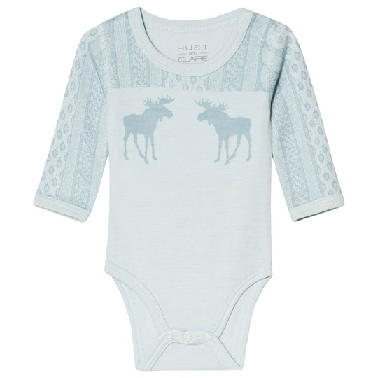 Hust&Claire Bo Baby Body Green Milky mint