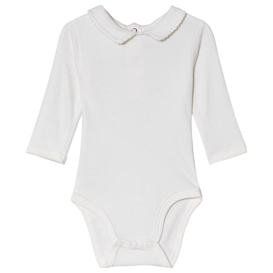 Hust&Claire Beate Baby body Vit Off white