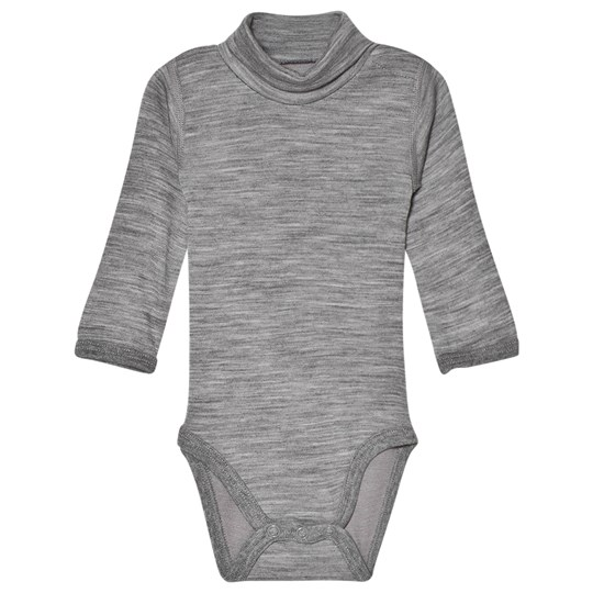Hust&Claire Baily Baby Body Grey WOOL GREY